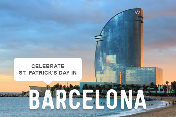celebrate st. patrick's day in | Barcelona